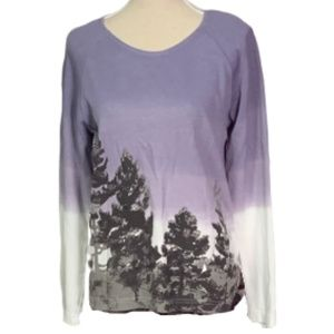 Weekends by Chico's Outdoor Printed Ombre Thermal
